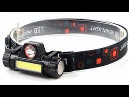 Перезаряжаемый <b>светодиодный налобный фонарь</b> ...