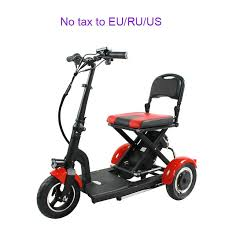 <b>Folding</b> 3wheel elderly electric bike 3 speed <b>ultra light</b> portable ...