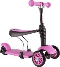 YVolution <b>Самокат</b>-беговел детский <b>Glider 3 в</b> 1 цвет розовый ...