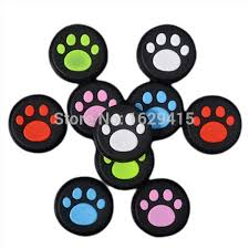 IVYUEEN <b>100 pcs Rubber Silicone</b> Cat Claw Analog Thumb Sticks ...