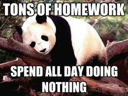An Overwhelmed Panda - Funny Images and Memes To Fill You Up With ... via Relatably.com