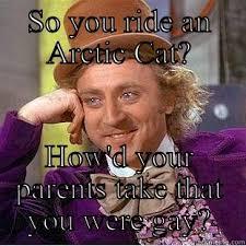 Arctic Cat - quickmeme via Relatably.com