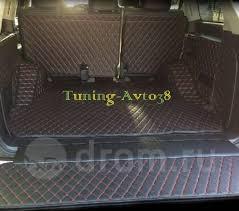 <b>Коврик в багажник кожаный</b> ( черный ) Toyota Land Cruiser 200 ...