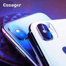<b>Essager</b> Camera Lens <b>Screen Protector</b> For iPhone X S Xs Max XR ...