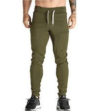 Men's Joggers Pants Gym Sport Training Pants Fitness Runn ...