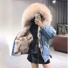 <b>FURSARCAR</b> 2018 <b>New Winter</b> Parka With <b>Real</b> Raccoon Fur ...