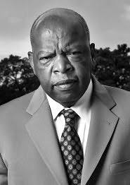 john lewis is georgias fifth congressional district representative and an american icon widely known for his role in the civil rights movement bn john lewis white