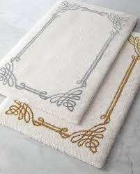 adler zebra bath rug gray