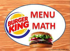 Life skills, Worksheets and Life on PinterestBurger King Menu Math w/ worksheet