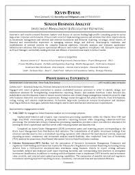 senior business analyst resume info senior business analyst resume example 4