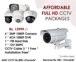 <b>CCTV</b> FUll <b>HD 1080P 2MP</b> 4CH For Indoor And Outdoor, Rs 13999 ...