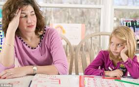 Two thirds of parents admit they can     t help their children with     Algebra  fractions and trigonometry are the least favourite homework topics  while Roman history and