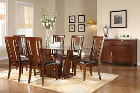 Teak Dining Room Sets Kitchen Contemporary Dining Table Designs In Wood And Glass Glass