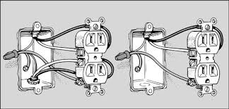how to replace an electrical outlet dummies Electrical Plug Diagram Electrical Plug Diagram #62 electric plug diagram