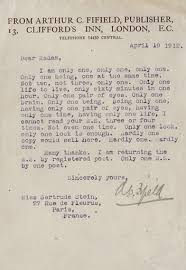 brutally honest job rejection letters business insider gertrude stein rejection letter