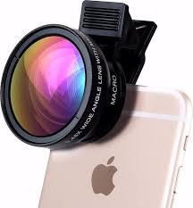 <b>Объектив линза</b> для телефона 2 в 1 Phone Lens макросъемка + ...