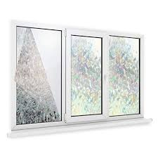 Maison & White <b>3D Privacy Window Film</b> | Non-Adhesive Static Cling