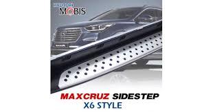 <b>Боковые подножки GSC</b> X6 Style - Hyundai MaxCruz (MOBIS)