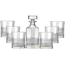 Набор для виски из 6-ти хрустальных стаканов и <b>штофа</b> ...
