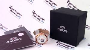 <b>Часы Orient DB0A008W</b> [FDB0A008W0] - видео обзор от ...