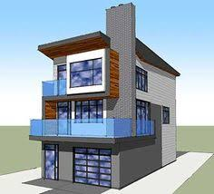 ideas about Narrow House Plans on Pinterest   Small House       ideas about Narrow House Plans on Pinterest   Small House Plans  House plans and Narrow House