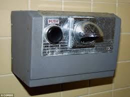 modern dyson hand dryer
