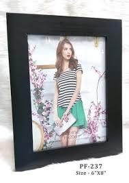 Wooden Photo Frames - <b>Black</b> Wooden Frame <b>6</b>-<b>8</b> Manufacturer ...