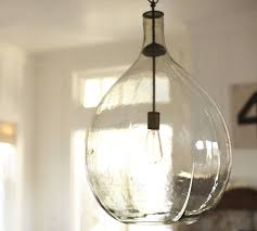 contemporary decor blown glass pendant light nice ideas hanging ceiling transparant bulbs lighting blown glass pendant lighting