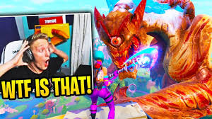 """TFUE & STREAMERS REACT To *EVENT* """"ROBOT vs MONSTER ..."""