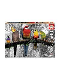 """<b>Пазл</b> 500 деталей """"Птицы в джунглях"""" <b>Educa</b> 7045608 в ..."""
