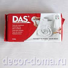 <b>Масса для лепки</b> и моделирования <b>DAS</b>, воздушной сушки, цвет ...