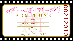 ticket design template outline templates she requested a blank template so they could enter their own text for