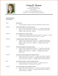 11 dancer resume sample event planning template dance resume template resume template builder