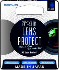 Защитный <b>фильтр Marumi FIT</b>+<b>SLIM</b> MC Lens Protect 72mm ...