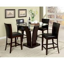 counter height set dining room