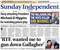sunday independent that defended bertie ahern on anti rte above the sindo s exclusive from a con man an attack on michael d higgins