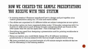 session b introduction to the sample presentations on vimeo