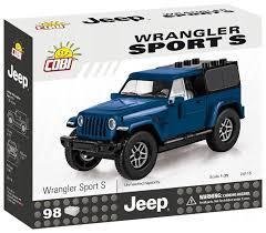 <b>Конструктор Cobi Jeep Wrangler</b> 24115 Sport S