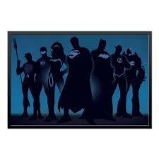 """Холст 60x90 """"<b>Justice League</b>/<b>Лига Справедливости</b>"""" #1657929 от ..."""