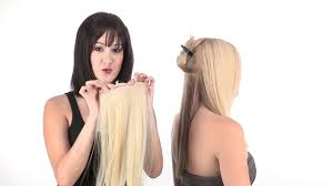 easiXtend <b>5</b>-<b>piece</b>   <b>HD</b> Clip In Hair Extensions by easihair - YouTube