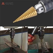 <b>1pc 4 12/4 20mm HSS Spiral</b> Center Step Drill Bit Solid Carbide Mini ...