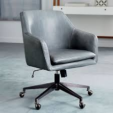 Helvetica <b>Leather Office</b> Chair