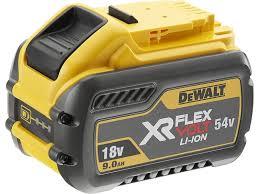 <b>Аккумулятор DeWALT FLEXVOLT DCB547</b>-XJ 18 В 9 Ач/54 В 3 Ач ...