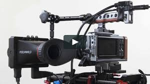 """<b>Feelworld 3.5</b>"""" EVF now works with BMPCC on Vimeo"""