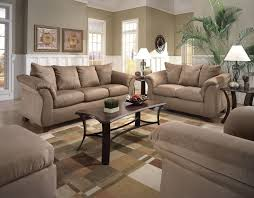 luxury brown living room wall decoration idea with brown white wall brown sofas and dark brown coffee table attractive living room wall decoration ideas attractive living rooms