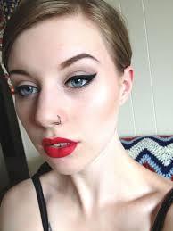 Mac Ruby Woo lipstick Almay liner <b>Urban Decay Polyester Bride</b> ...