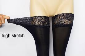 Sexy Fashion Ladies <b>Women</b> Lace Top Stay Up Thigh High ...