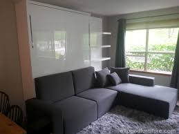 space dining table solutions amazing home design: cabin wall bed sofa installation in whistler canada