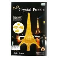 <b>3D</b>-<b>пазл Shantou Gepai 3D</b> Эйфелева башня (29017A), 24 дет ...