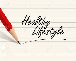 illustration of pencil and paper written word healthy illustration illustration of pencil and paper written word healthy lifestyle